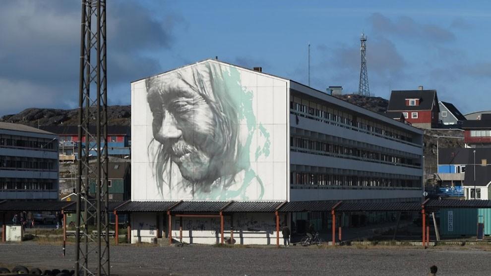 рисунки на домах, графити-15