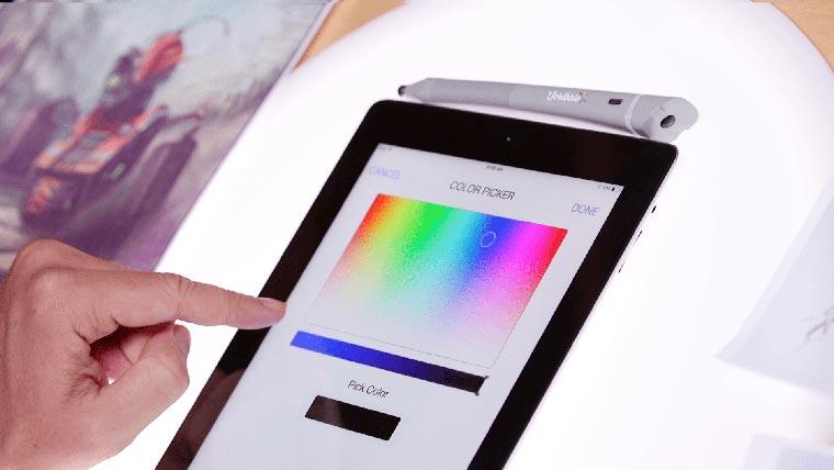 ручка сканирующая цвета-10