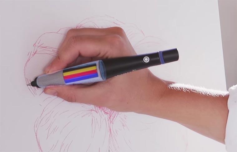 ручка сканирующая цвета-6