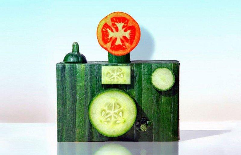 скульптуры из еды и продуктов питания-3