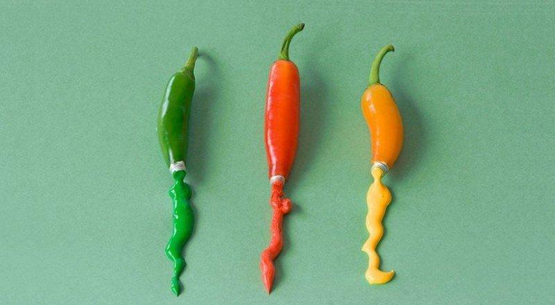скульптуры из еды и продуктов питания-4