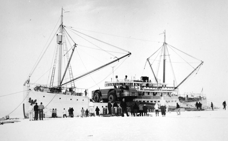 антарктика, внедорожник, адмирал Берд, экспедиция-11