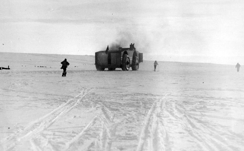 антарктика, внедорожник, адмирал Берд, экспедиция-13