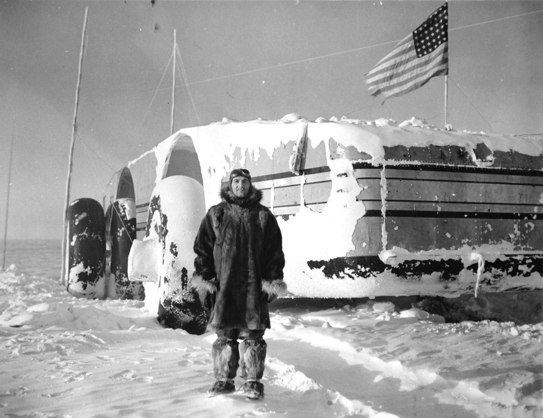 антарктика, внедорожник, адмирал Берд, экспедиция-17
