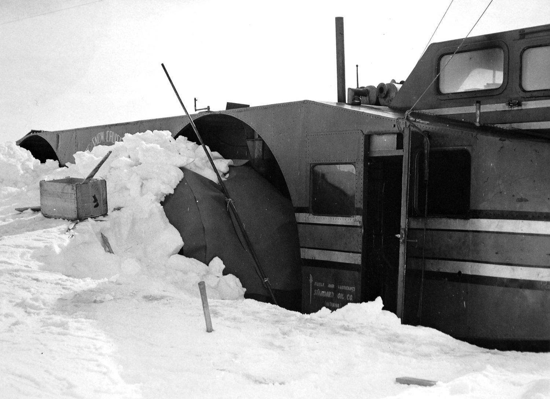 антарктика, внедорожник, адмирал Берд, экспедиция-19