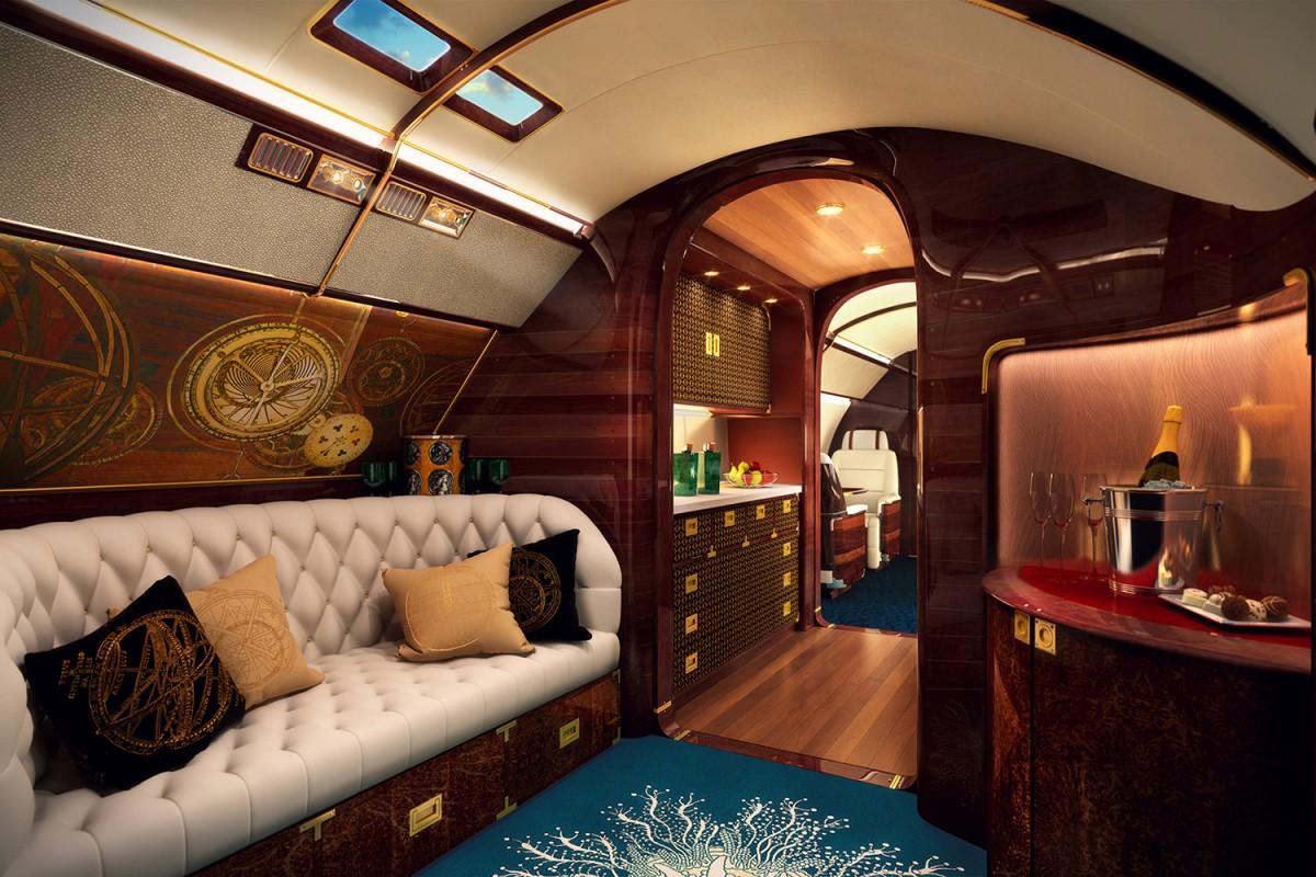 частный самолет, салон частного самолета, дорогой самолет, самые дорогие самолеты-1