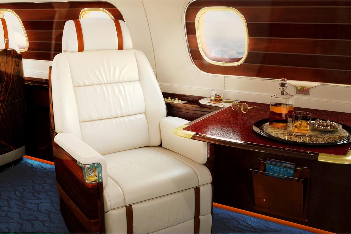 частный самолет, салон частного самолета, дорогой самолет, самые дорогие самолеты-2
