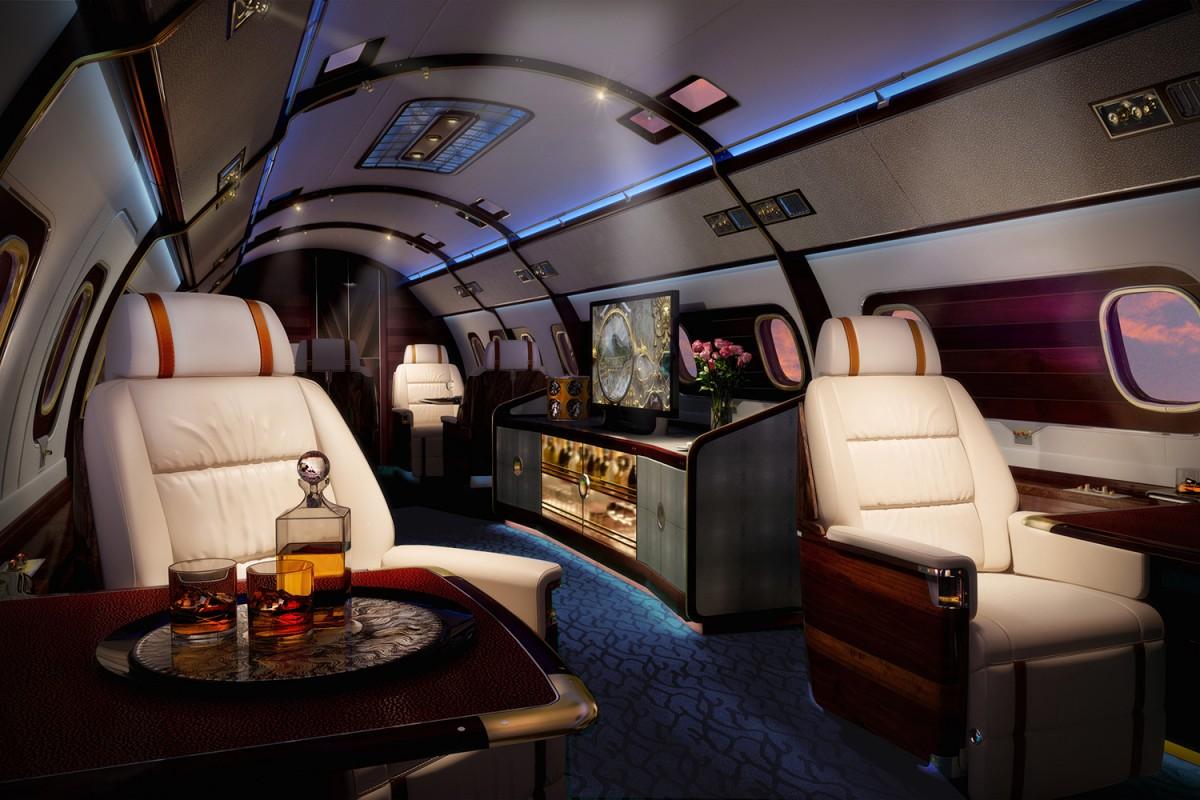 частный самолет, салон частного самолета, дорогой самолет, самые дорогие самолеты-3
