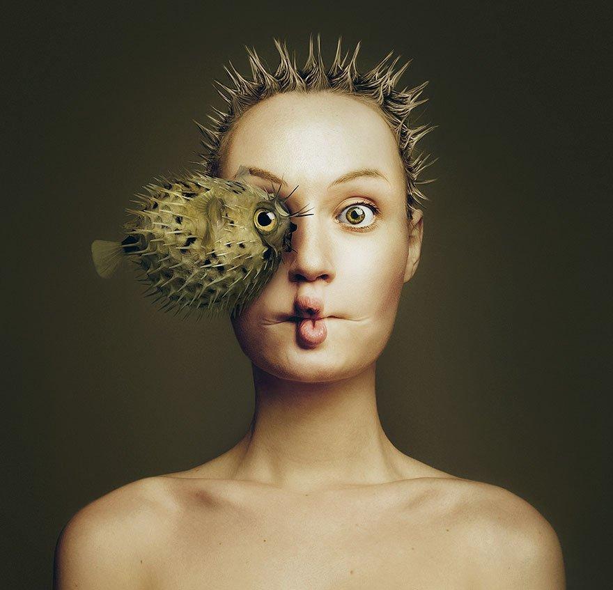 портреты людей и животных-2
