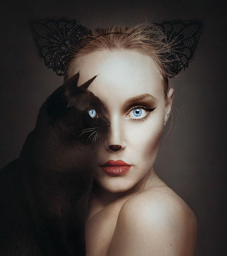 портреты людей и животных-5