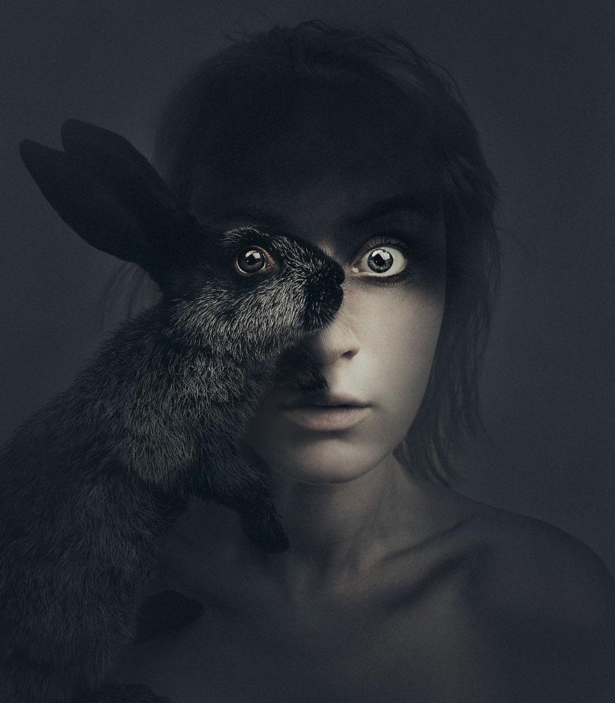 портреты людей и животных-6