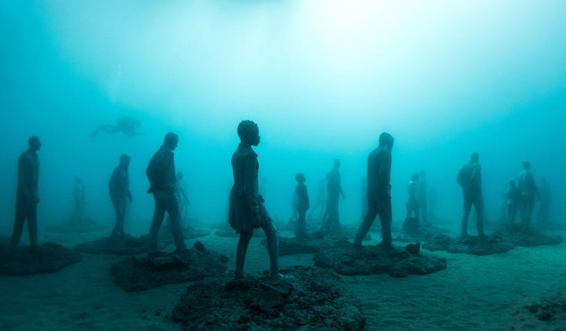 Джейсон Декарис Тейлор, подводный музей Испании, скульптура под водой, фото № 1