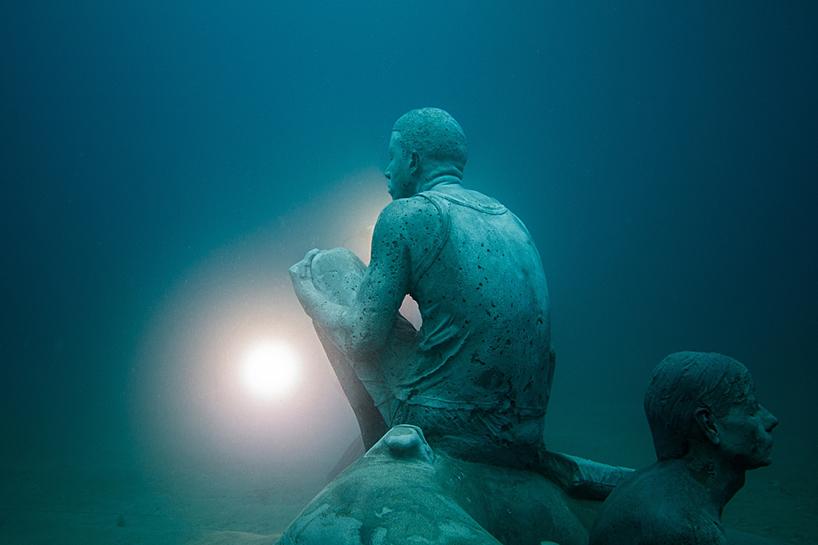 Джейсон Декарис Тейлор, подводный музей Испании, скульптура под водой, фото № 10