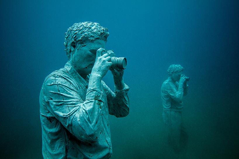 Джейсон Декарис Тейлор, подводный музей Испании, скульптура под водой, фото № 11