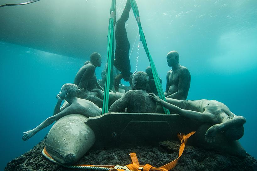 Джейсон Декарис Тейлор, подводный музей Испании, скульптура под водой, фото № 15