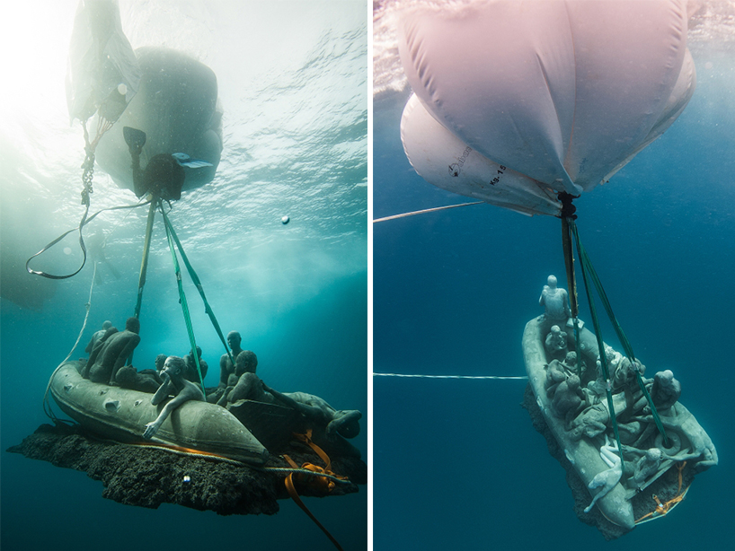 Джейсон Декарис Тейлор, подводный музей Испании, скульптура под водой, фото № 17