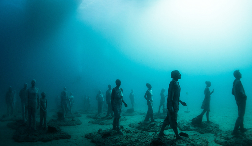 Джейсон Декарис Тейлор, подводный музей Испании, скульптура под водой, фото № 3