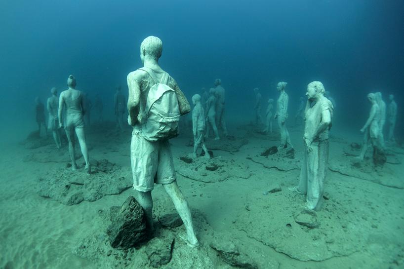 Джейсон Декарис Тейлор, подводный музей Испании, скульптура под водой, фото № 4