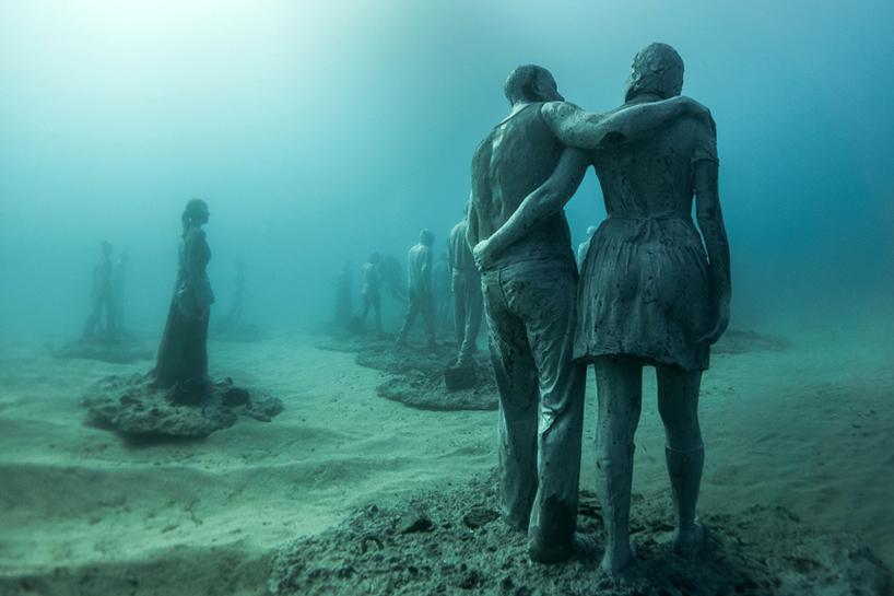 Джейсон Декарис Тейлор, подводный музей Испании, скульптура под водой, фото № 5
