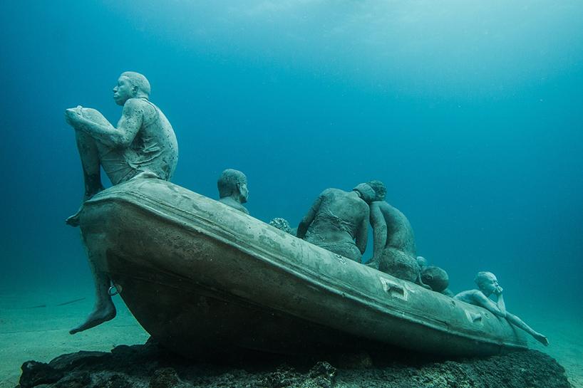 Джейсон Декарис Тейлор, подводный музей Испании, скульптура под водой, фото № 9