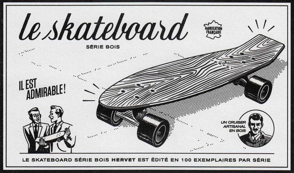 Hervet-Manufacturier, магазин скейтов, магазин скейтбордов, катание на скейте, как сделать скейт, фото № 19