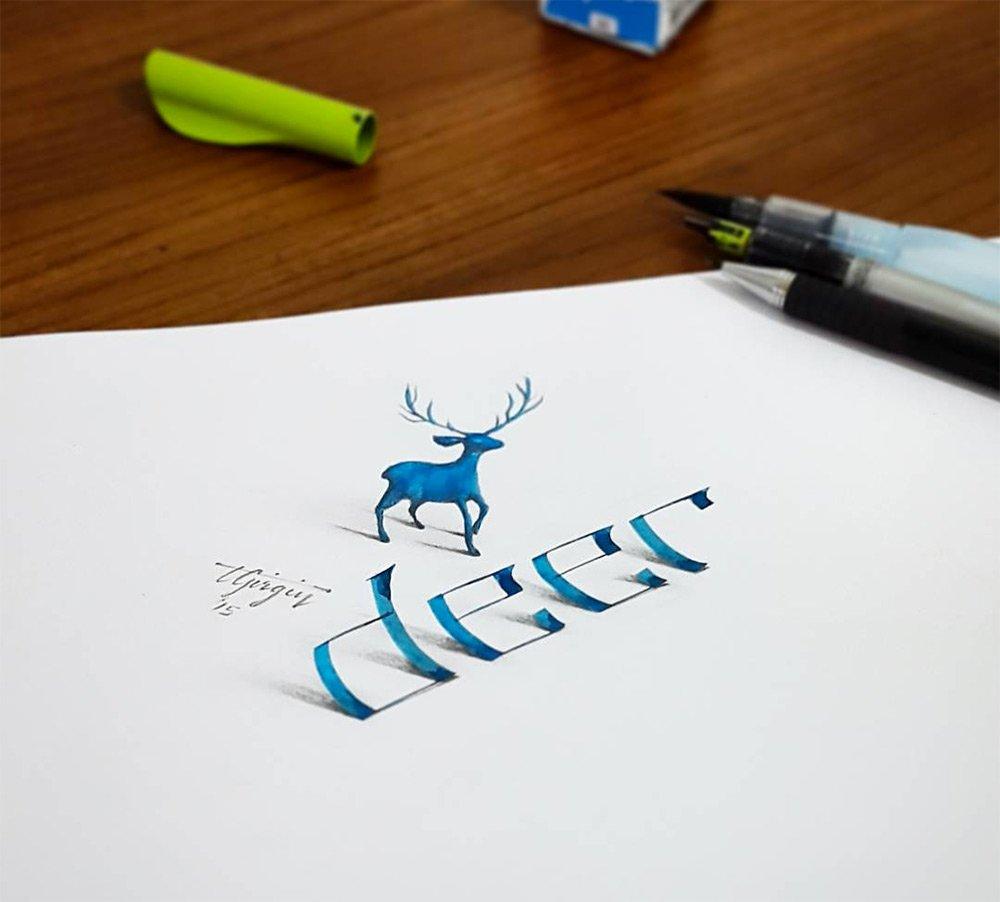 авторские шрифты, каллиграфия, фото № 2