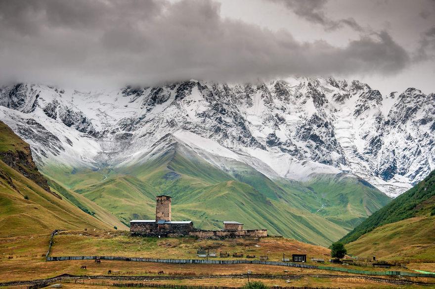 горы Грузии, Сванети, природа Грузии, фото № 11