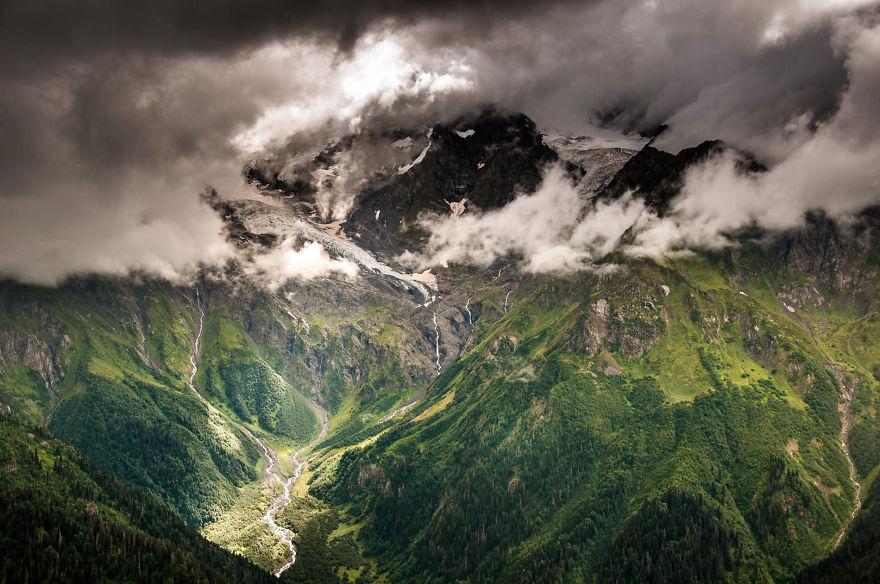 горы Грузии, Сванети, природа Грузии, фото № 12