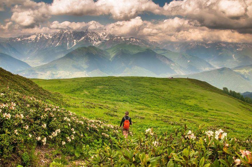 горы Грузии, Сванети, природа Грузии, фото № 13