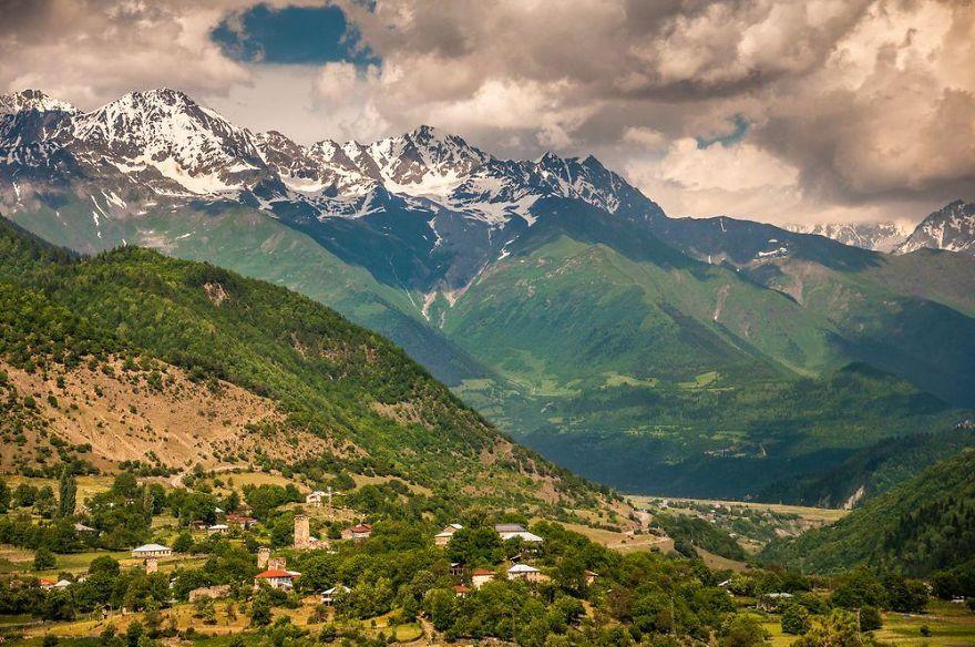 горы Грузии, Сванети, природа Грузии, фото № 14