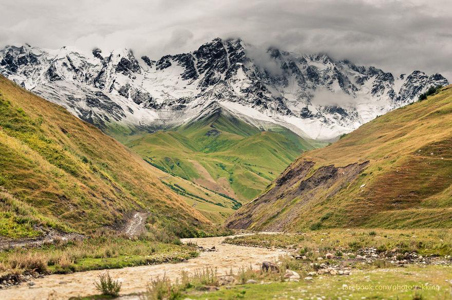 горы Грузии, Сванети, природа Грузии, фото № 2