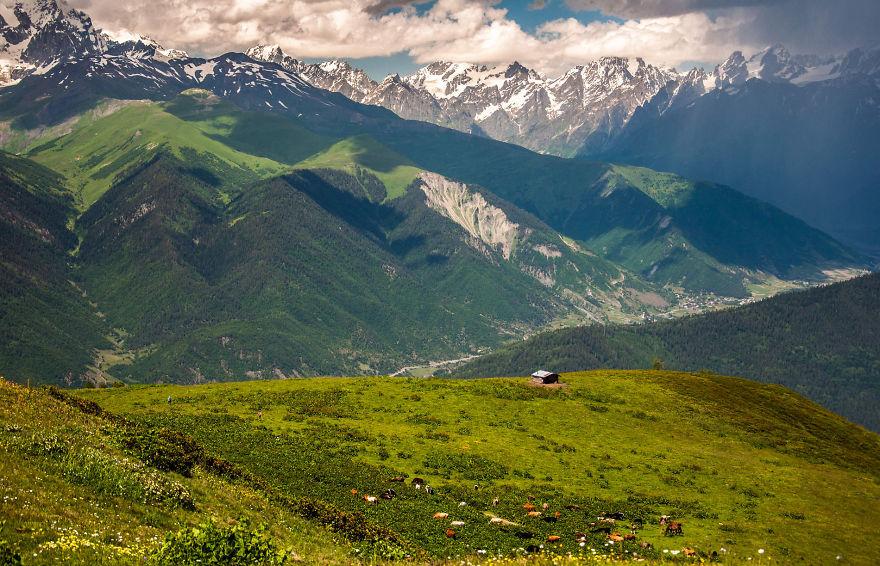 горы Грузии, Сванети, природа Грузии, фото № 3