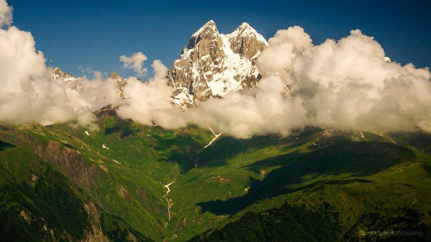горы Грузии, Сванети, природа Грузии, фото № 5