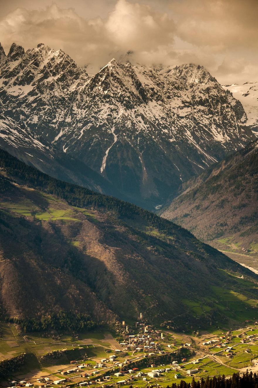 горы Грузии, Сванети, природа Грузии, фото № 7