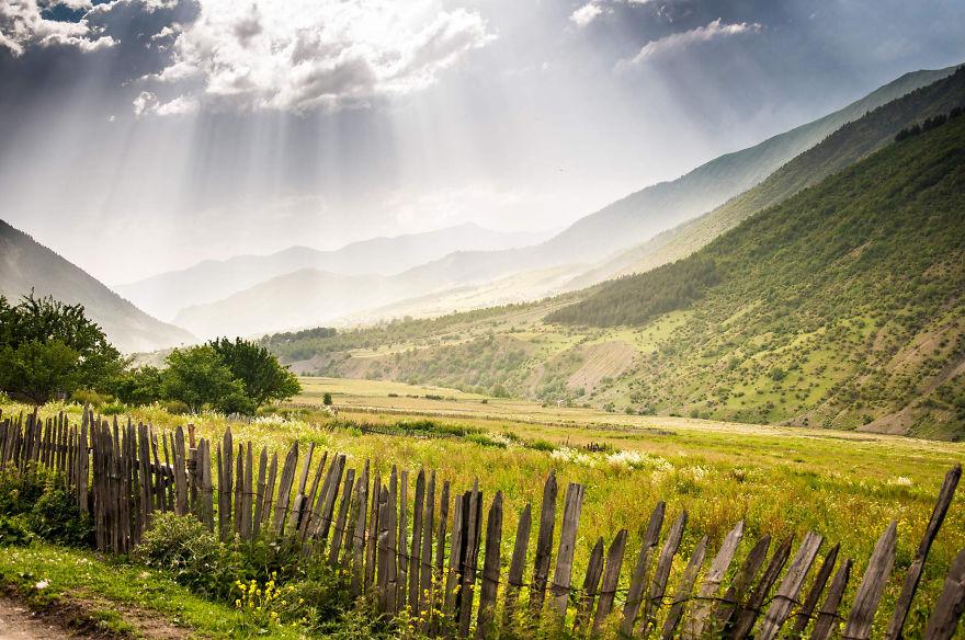 горы Грузии, Сванети, природа Грузии, фото № 8