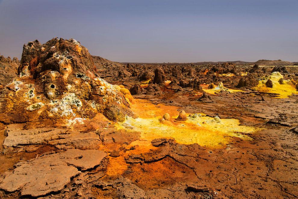 кальдера, удивительные пейзажи, природные зоны Эфиопии, фото № 1