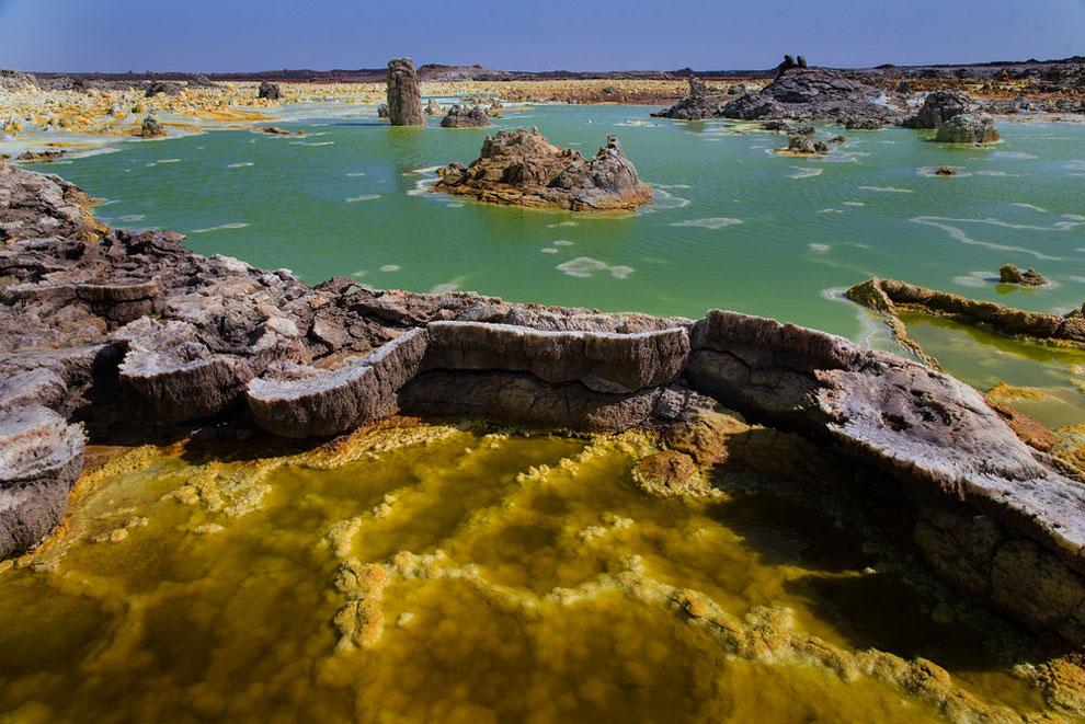 кальдера, удивительные пейзажи, природные зоны Эфиопии, фото № 10