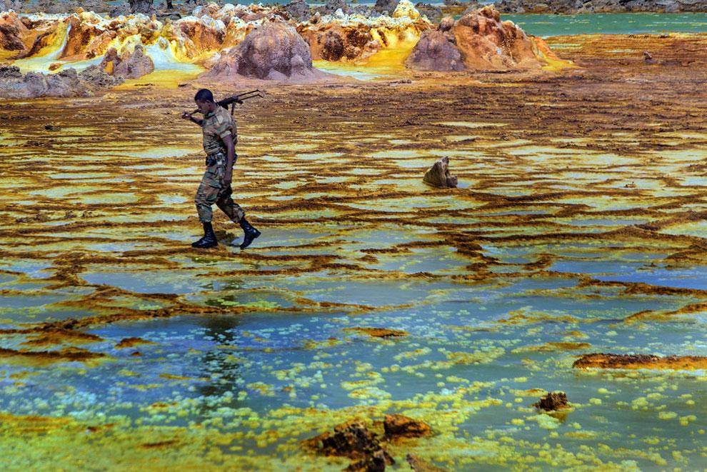 кальдера, удивительные пейзажи, природные зоны Эфиопии, фото № 2