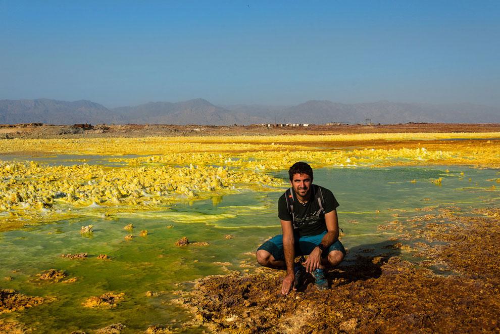 кальдера, удивительные пейзажи, природные зоны Эфиопии, фото № 4