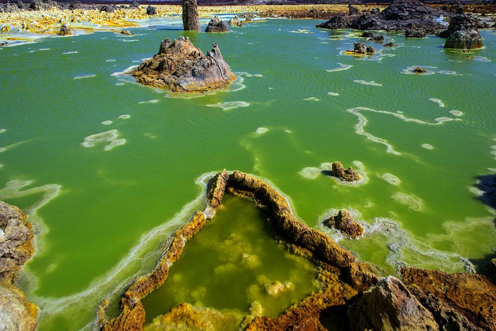 кальдера, удивительные пейзажи, природные зоны Эфиопии, фото № 6