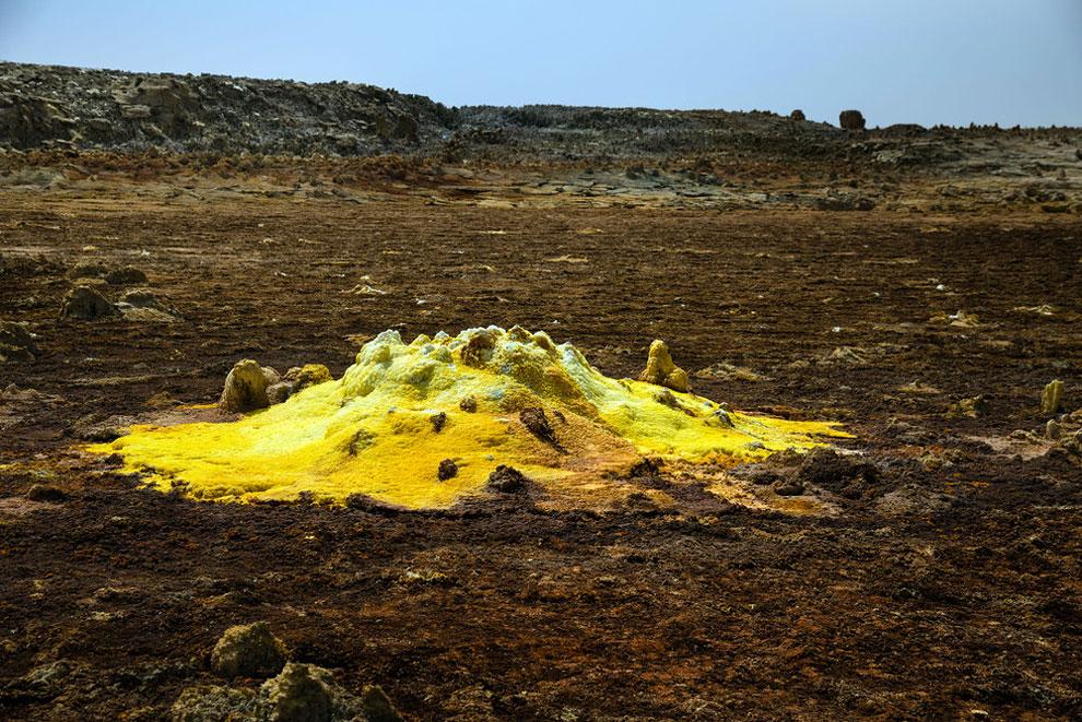 кальдера, удивительные пейзажи, природные зоны Эфиопии, фото № 8