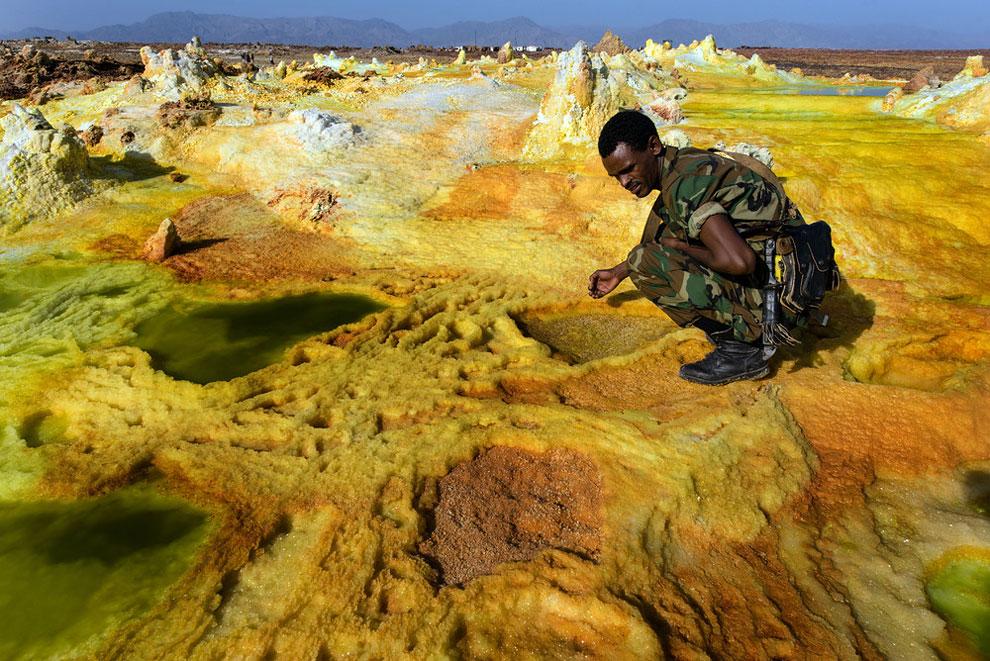кальдера, удивительные пейзажи, природные зоны Эфиопии, фото № 9