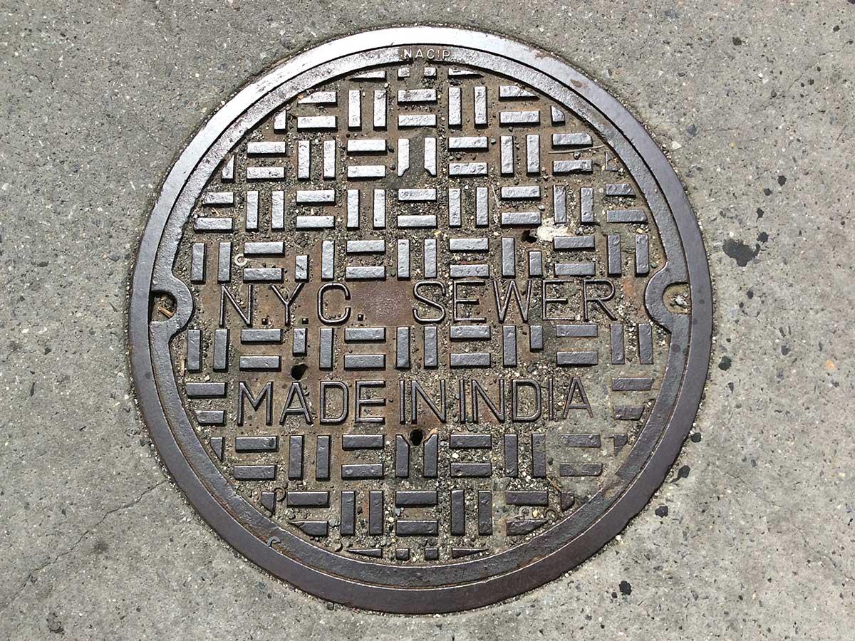 канализационный люк, крышка канализационного люка, чугунный канализационный люк-5