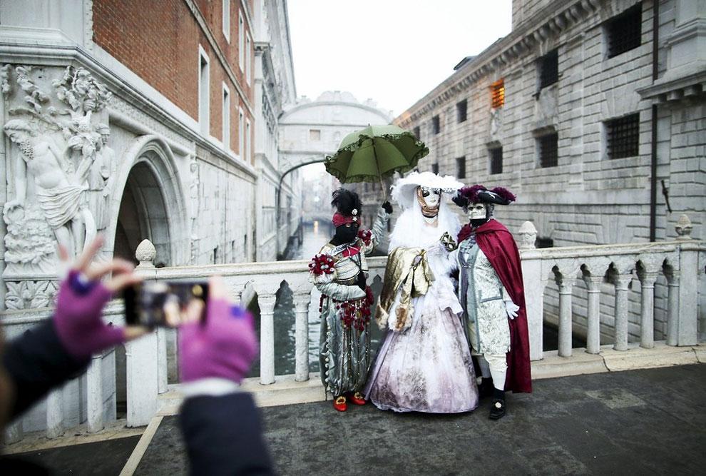 карнавал в Венеции 2016, венецианский карнавал 2016, лучшие карнавалы, про карнавал, фото № 14