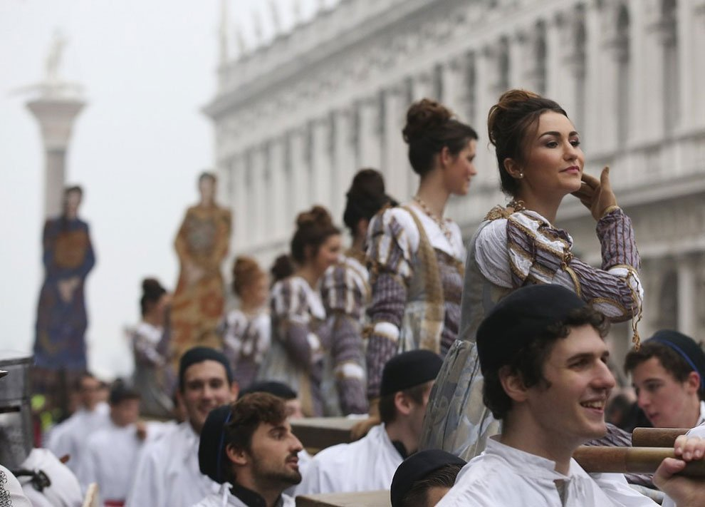 карнавал в Венеции 2016, венецианский карнавал 2016, лучшие карнавалы, про карнавал, фото № 21