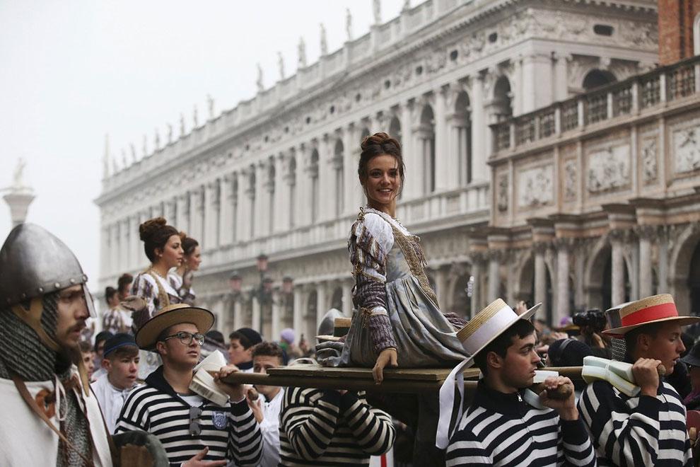 карнавал в Венеции 2016, венецианский карнавал 2016, лучшие карнавалы, про карнавал, фото № 23