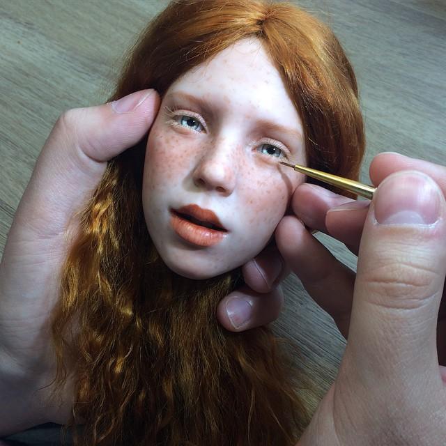 куклы своими руками, изготовление кукол своими руками, куклы сделанные руками фото-13