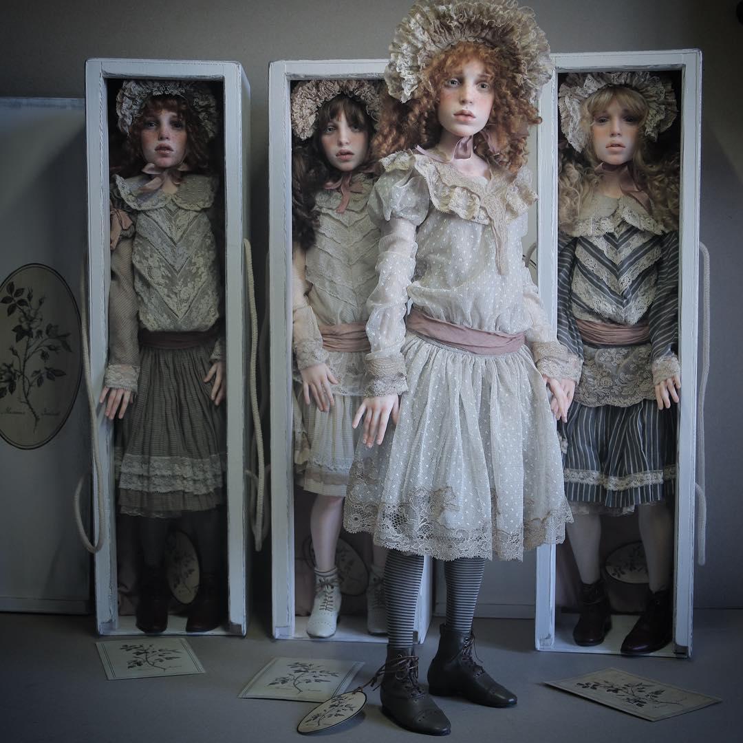 куклы своими руками, изготовление кукол своими руками, куклы сделанные руками фото-15