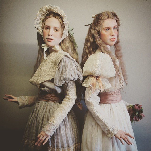 куклы своими руками, изготовление кукол своими руками, куклы сделанные руками фото-4