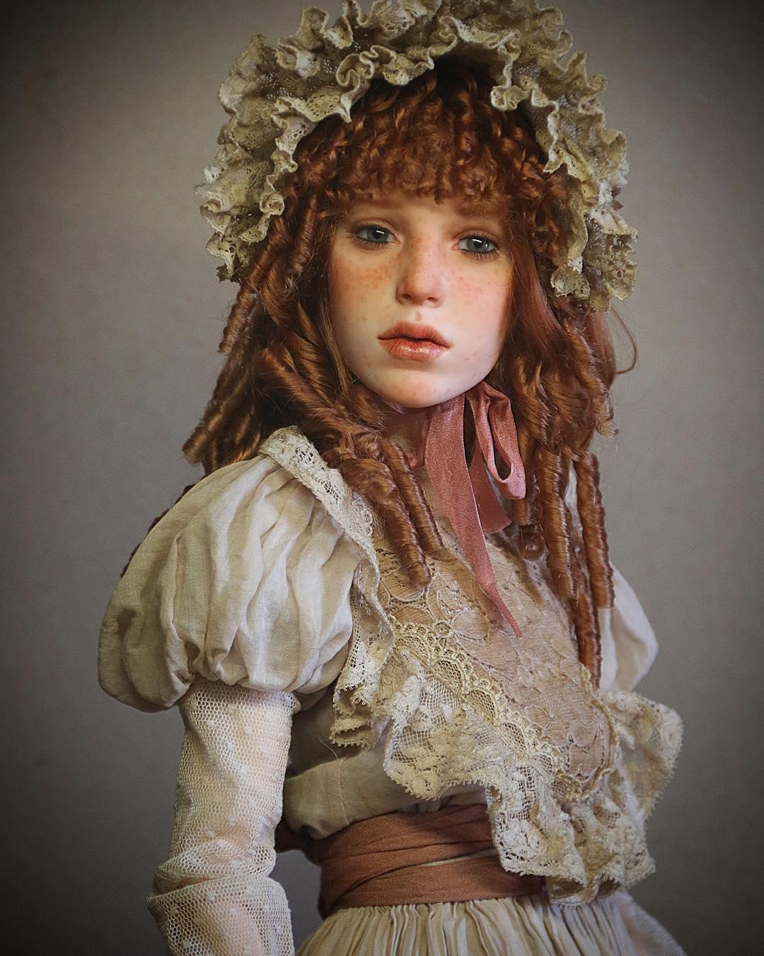 куклы своими руками, изготовление кукол своими руками, куклы сделанные руками фото-5